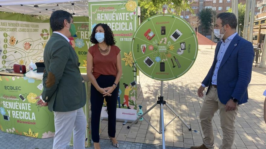 La Green Week21 llega a Toledo para fomentar el reciclaje de residuos electrónicos