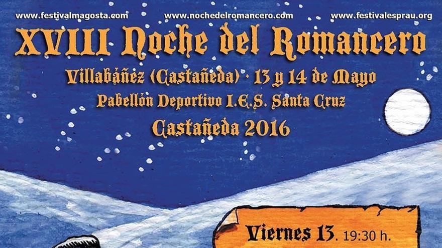 Castañeda acoge su XVIII Noche del Romancero