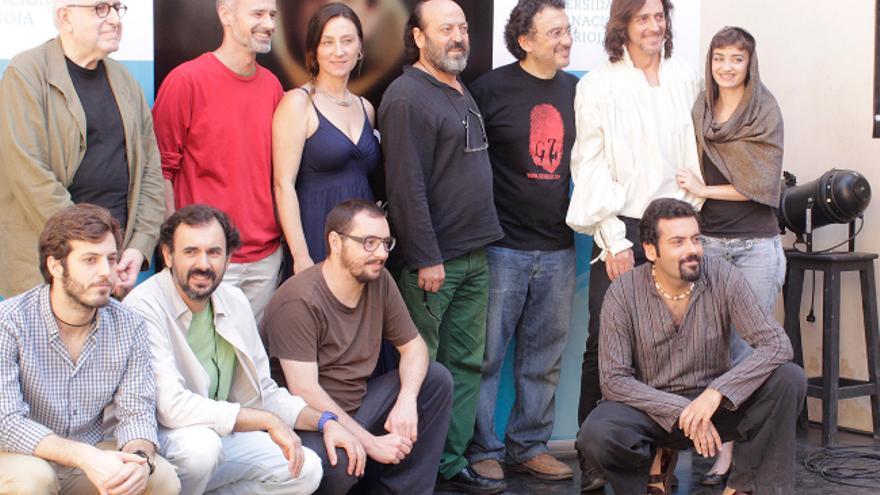 El equipo de rodaje de la película sobre Tomás Moro