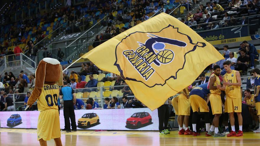 Partido de Eurocup entre el Herbalife Gran Canaria y el Avtodor Saratov en el Gran Canaria Arena. (Alejandro Ramos).