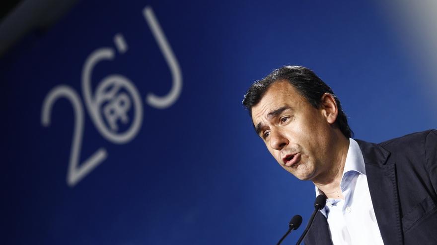 """Maíllo dice que Ciudadanos no les ha trasladado ningún """"veto"""" a Rajoy: """"No caben vetos. Está fuera de lugar"""""""