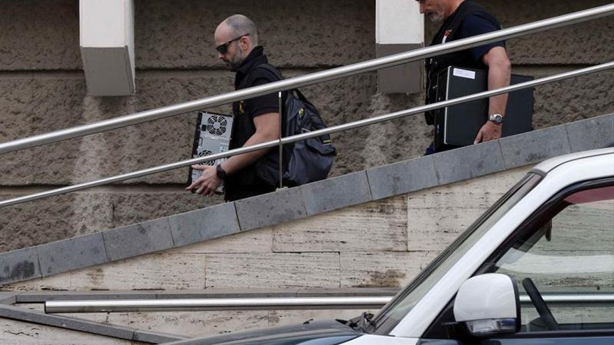 La guardia civil detiene a un trabajador del catastro en for Oficinas del catastro