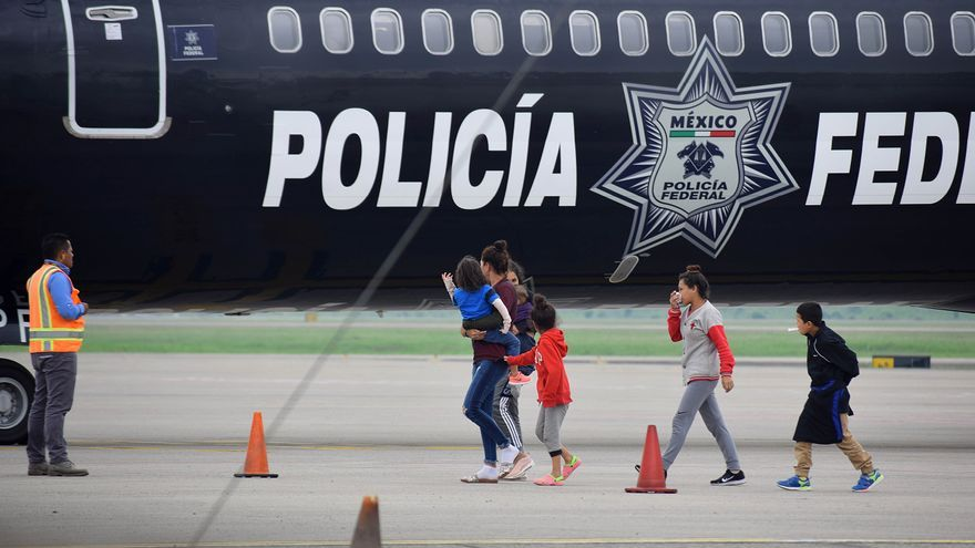 Piden a ente de DD.HH. de México revisar lugar para migrantes en aeropuerto