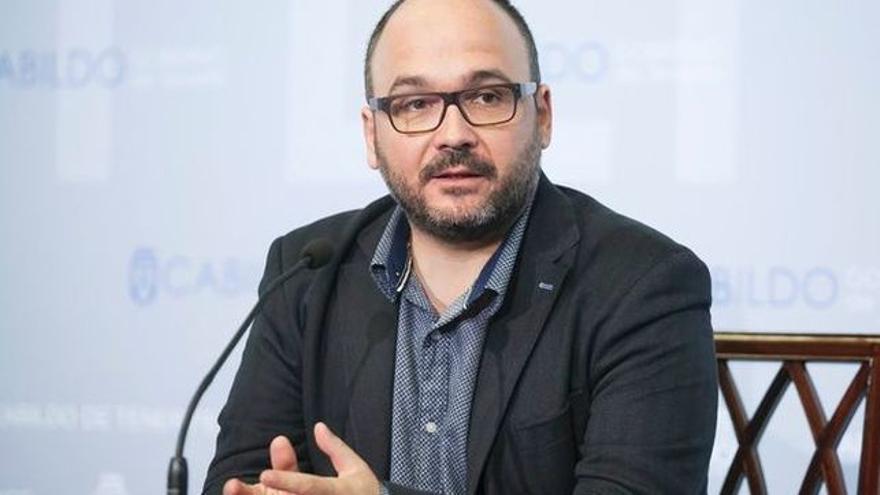 José Antonio Valbuena, consejero responsable de Medioambiente en el Cabildo de Tenerife
