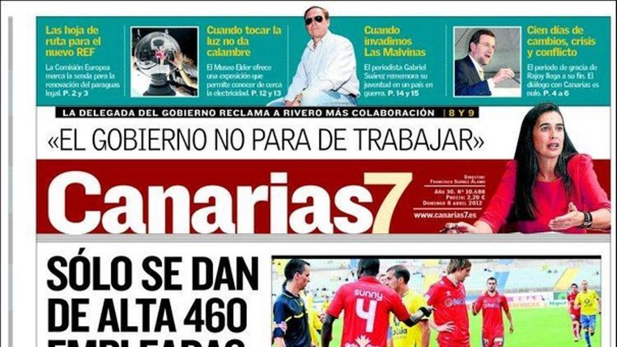 De las portadas del día (08/04/2012) #1