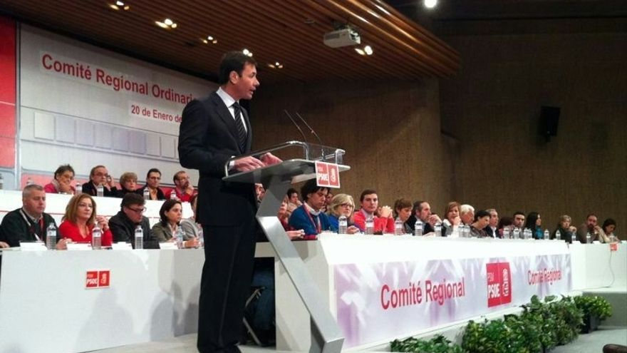 """Tomás Gómez: """"No se acaba con la corrupción pactando con los corruptos"""""""