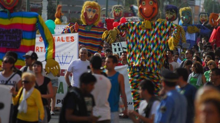 Manifestación del 12M en LPGC #12