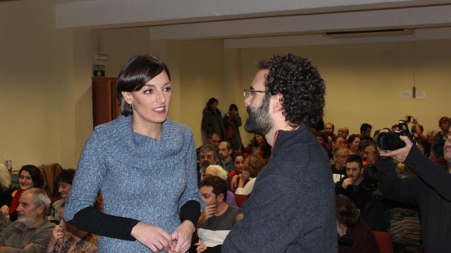 Lola Sánchez ha prestado su apoyo a la candidatura de 'Ahora Podemos' al municipio de Murcia / PSS