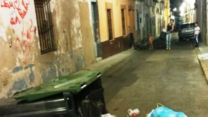 Una de las calles del Casco Antiguo de Badajoz