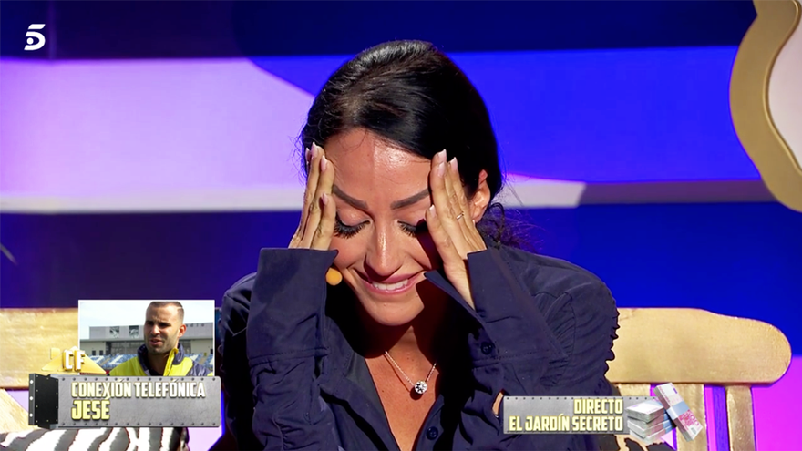 """Jesé llamó en directo a 'La casa fuerte' para hablar con Aurah: """"Es la primera vez que un futbolista hace esto"""""""