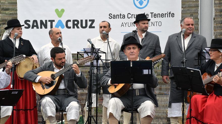 Actuación musical celebrada en San Andrés este domingo