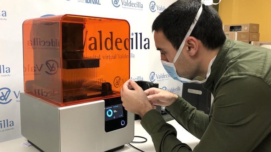 El Hospital Virtual Valdecilla, referencia con su proyecto de hisopos para el Covid-19