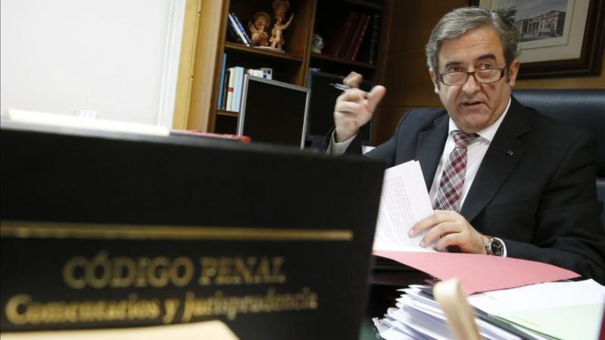 El fiscal jefe de la Audiencia Nacional, Javier Zaragoza.