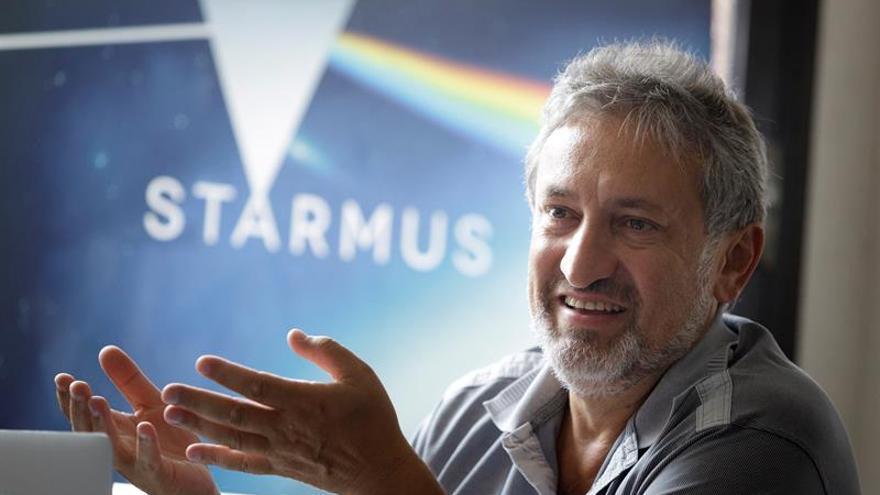 El fundador del festival 'Starmus' y astrofísico del Instituto de Astrofísica de Canarias (IAC), Garik Israelian.