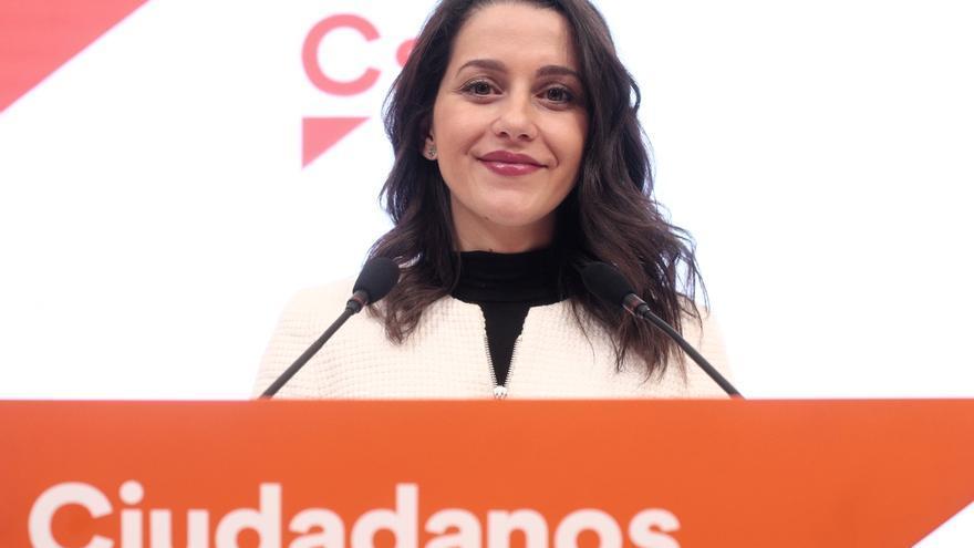 """Arrimadas censura el acuerdo PSOE-ERC: """"Otro misil contra el orden constitucional"""""""