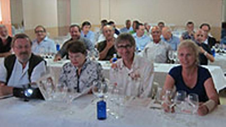 Clase magistral de vinos en el Mercantil de LPGC.