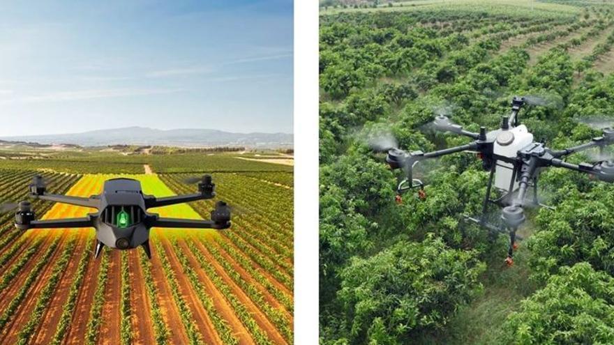 Drones en la agricultura