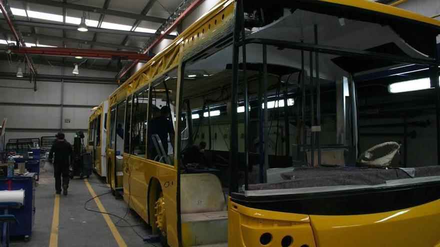 Nuevos vehículos de Guaguas Municipales