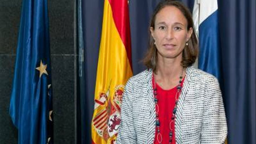 Cristina Carnicer, directora de la Agencia Tributaria Canaria.