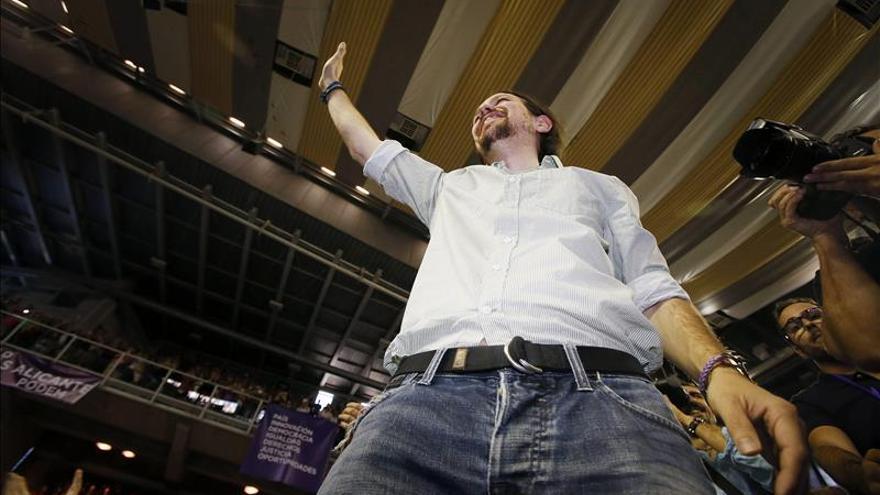 """Pablo Iglesias: """"Los socialistas de corazón saben que hay que votar morado"""""""