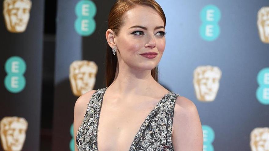 Emma Stone se convierte en la actriz mejor pagada del año, según Forbes