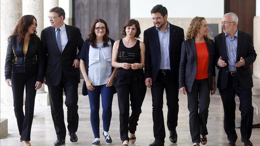 """Los partidos menos el PP, contra la """"gestión indigna"""" del accidente de metro de Valencia"""