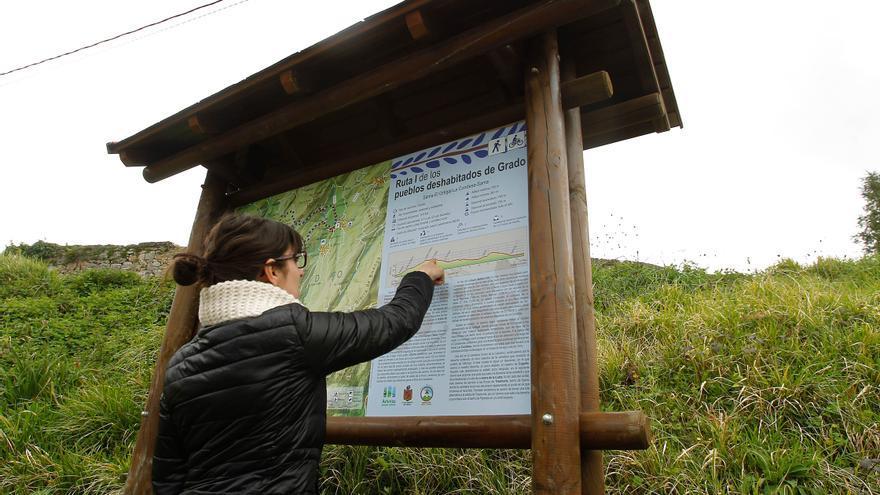I Ruta Turística de los Pueblos Deshabitados en el concejo de Grado