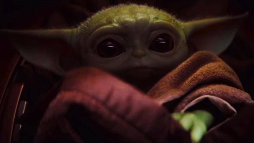 El Baby Yoda de 'The Mandalorian'