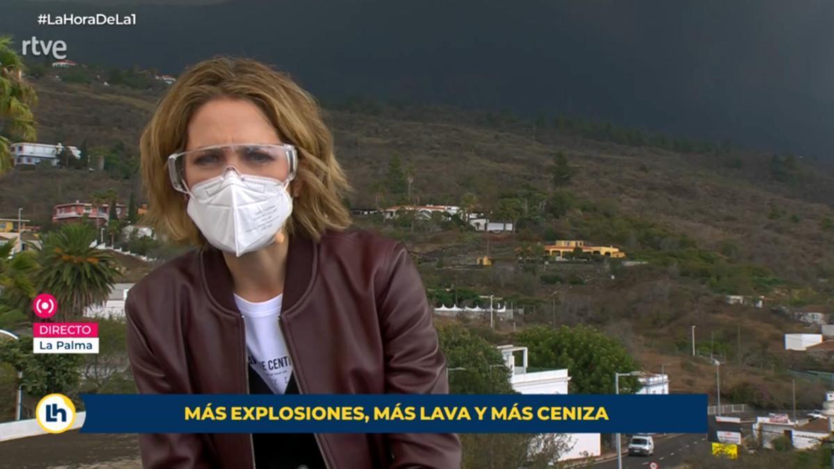 Silvia Intxaurrondo en 'La Hora de La 1' desde Palma