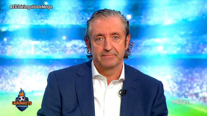 """Josep Pedrerol aclara su gran enfado en 'El Chiringuito': """"Nunca aprenderé"""""""