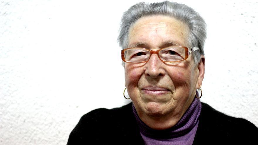 Lucrecia Amaya, artesana tejedora de Tamargada, La Gomera