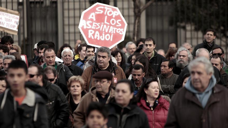 Stop a los asesinatos. \ Olmo Calvo
