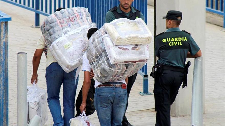 Se reanuda el tráfico de mercancías entre Ceuta y Marruecos tras un mes cerrado