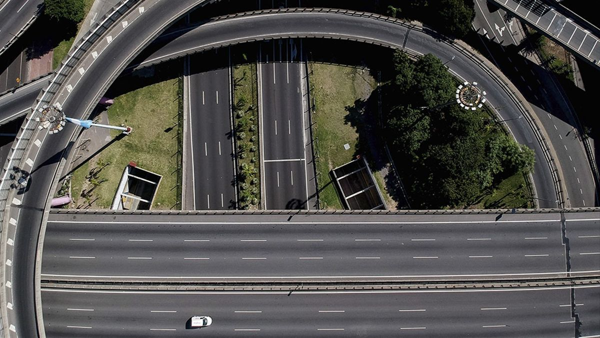El Puente Pueyrredón podrá ser cruzado solo por trabajadores esenciales.
