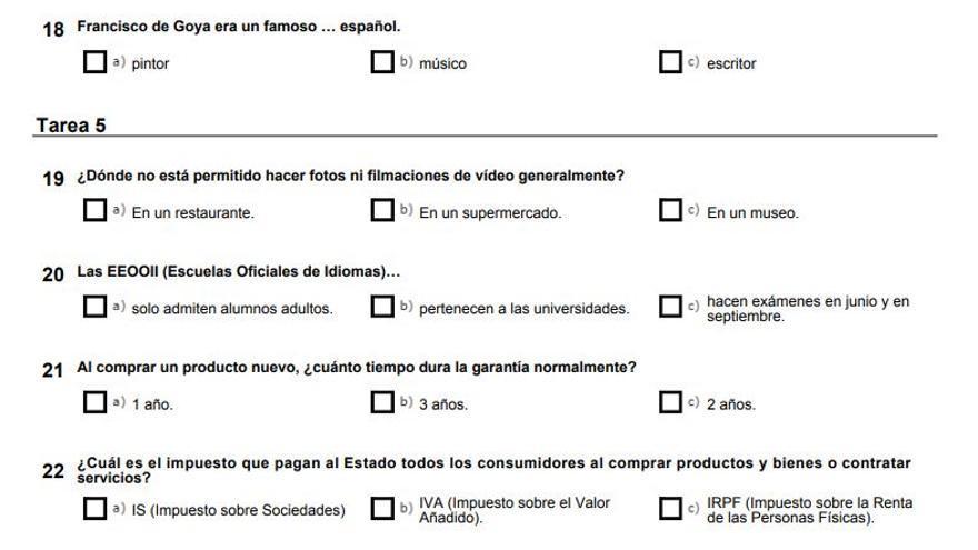 El Coste De Convertirse En Español 300 Euros Y Un Examen Para Demostrar La Integración Que El 90 Aprueba