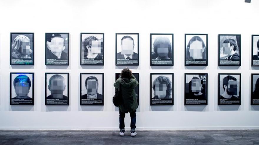 Obra 'Presos políticos en la España contemporánea', censurada por IFEMA en la feria ARCO