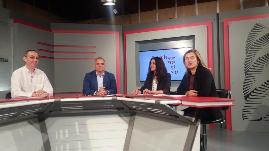 L'Alternativa TV, amb Sandra Àlvaro, Lourdes Muñoz i Javier Díaz Noci