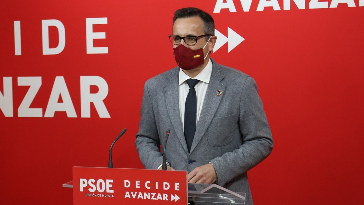 Diego Conesa, portavoz del PSOE en la Región de Murcia