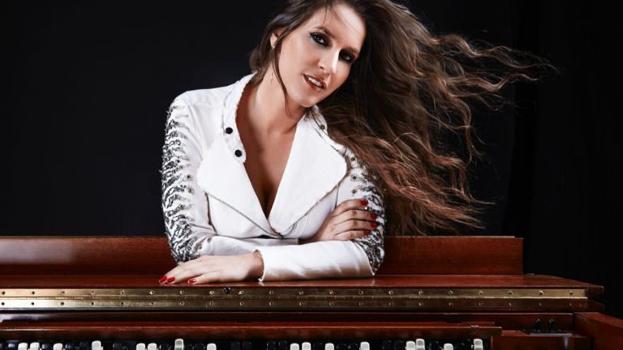 La cantante María Toledo / Isaac Morell