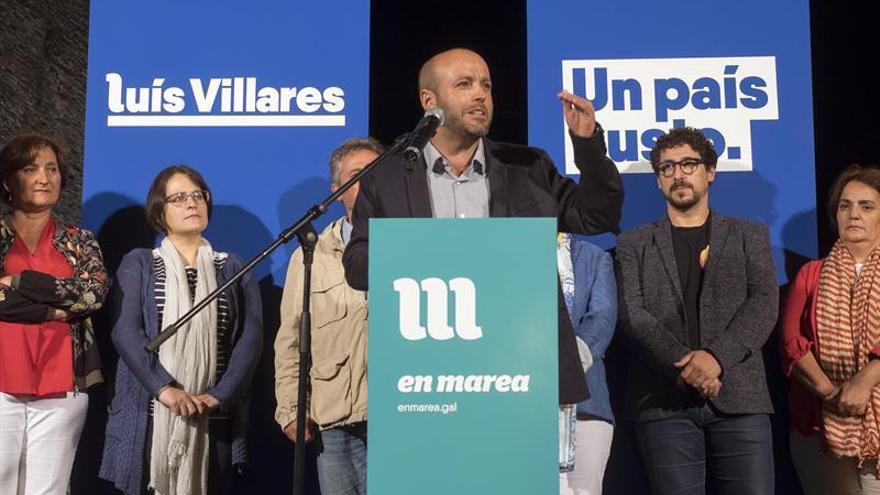"""En Marea arranca la campaña con el objetivo de """"reconstruir"""" Galicia"""