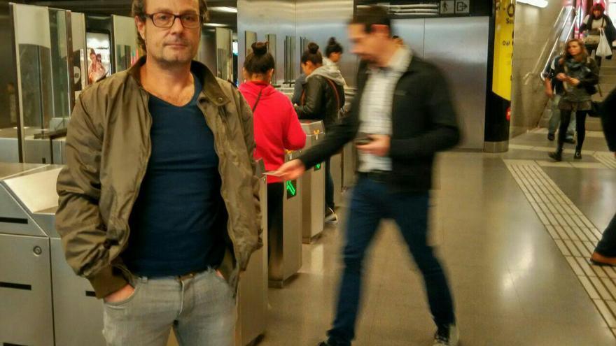 Ricardo Vercher es miembro del comité de empresa de Metro de Barcelona, por CCOO