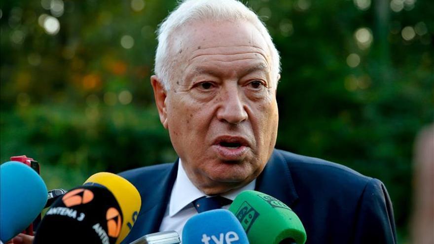 Margallo: Es absurda la independencia para mantener la nacionalidad repudiada