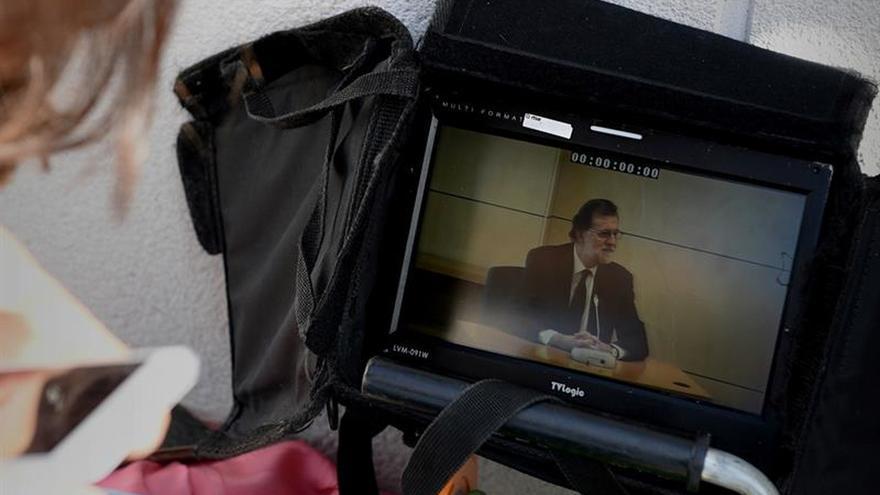 Rajoy termina su declaración tras casi dos horas contestando preguntas