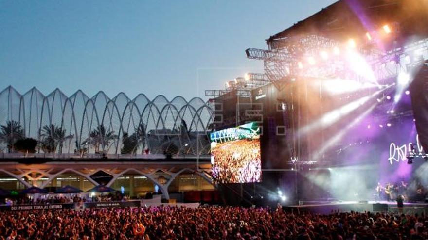 Festival de Les Arts, en una imagen de archivo.