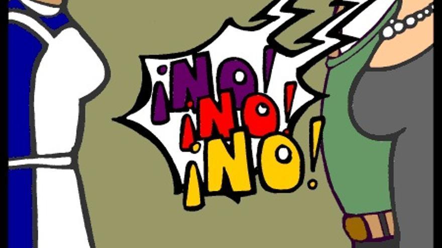 Comic de sensibilización sobre los derechos de las trabajadoras domésticas. Programa Abriendo Mundos.