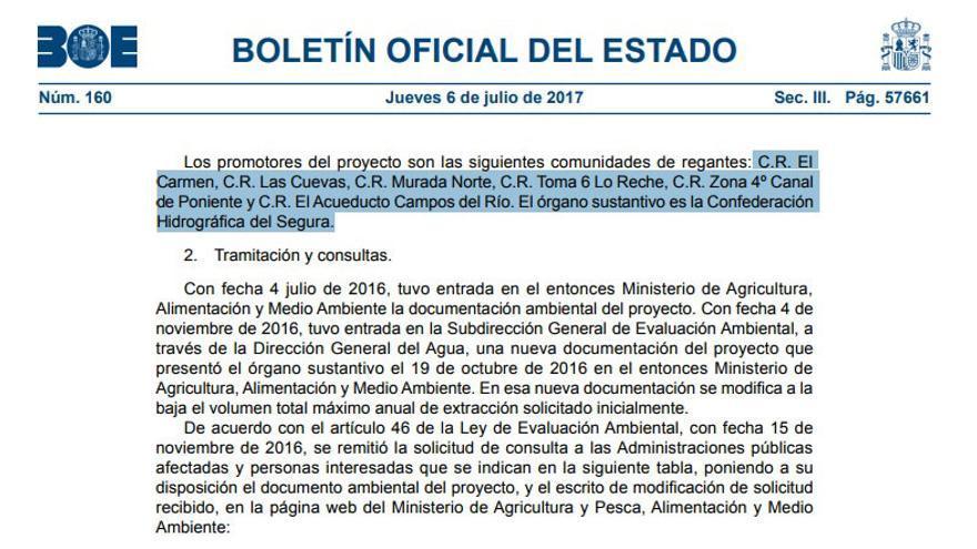 Segunda página de la resolución publicada por el BOE el 6 de julio