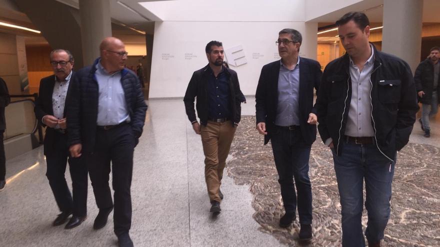 Acto de presentación del candidato del PSOE a la Alcaldía de Burgos.