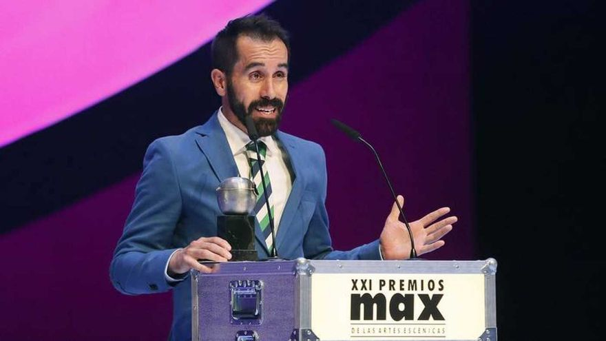 Daniel Abreu, triple ganador de los Premios Max
