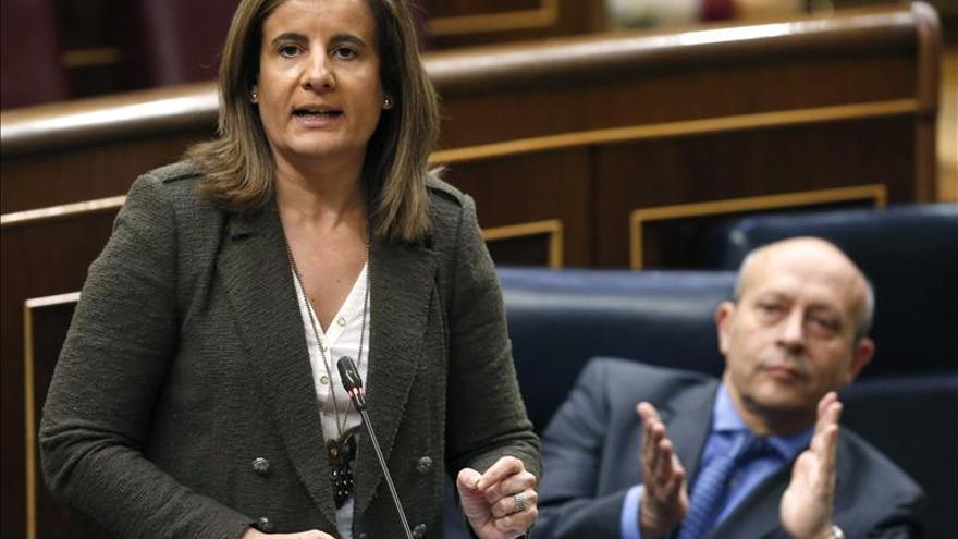Báñez anuncia el alza de la subida máxima de pensiones hasta el IPC más el 0,50 por ciento