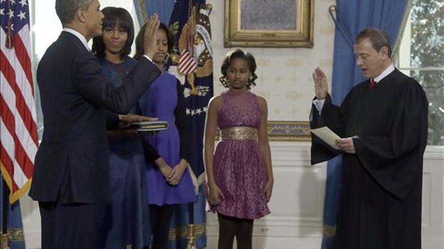 Obama jura el cargo para un segundo mandato como presidente de EEUU / EFE